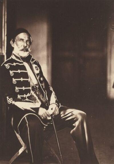 Roger Fenton, 'Omar Pacha', 1855