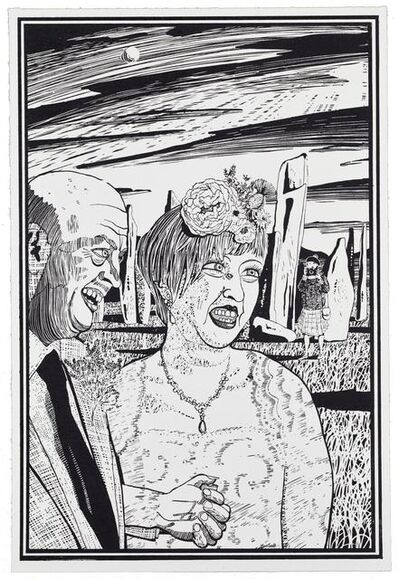 Grayson Perry, 'Six Snapshots of Julie (5)', 2015