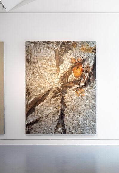 Marina Cruz, 'Orange Flower and Orange Stains', 2020