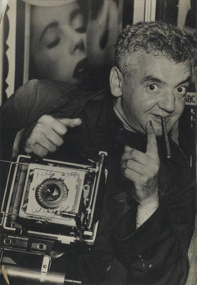 Weegee, 'Self-Portrait.', Circa 1950
