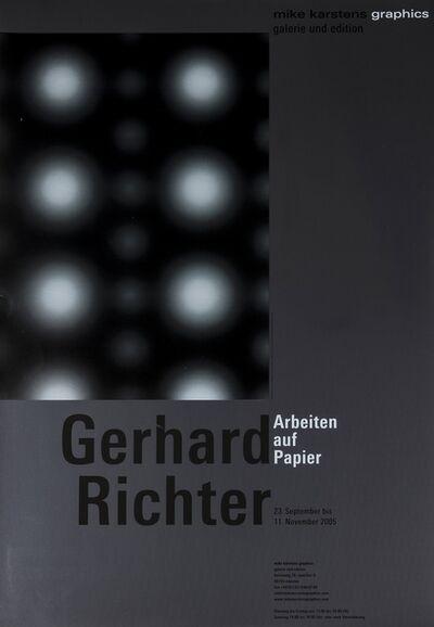Gerhard Richter, 'Arbeiten Auf Papier, a poster for', 2002