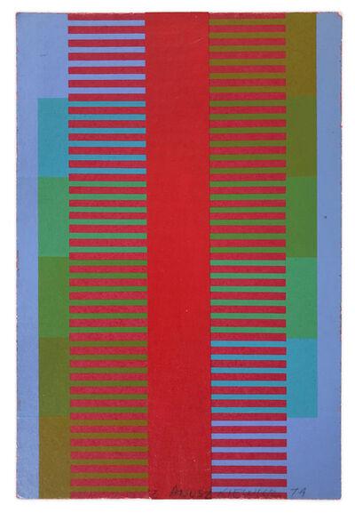 Richard Anuszkiewicz, 'Annual Edition 1974', 1974