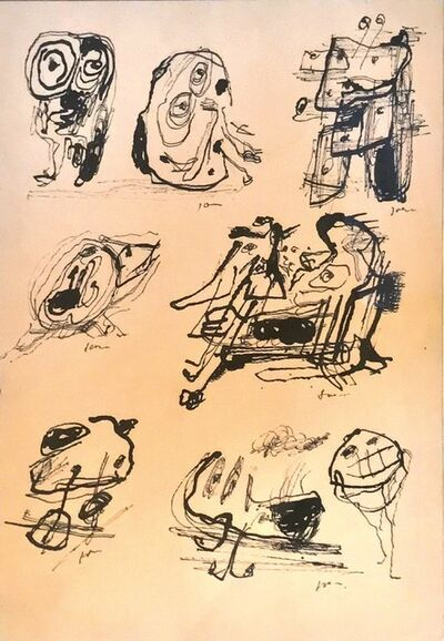 Asger Jorn, 'Untitled', Circa 1954