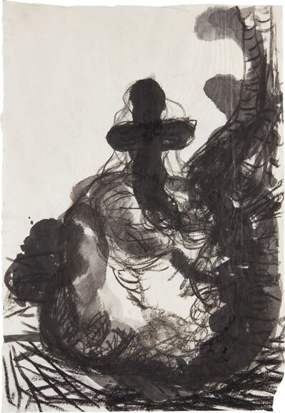 Georg Baselitz, 'Ohne Titel (Kreuz) (Untitled (Cross))', 1960