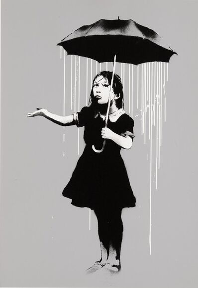 Banksy, 'NOLA (White)', 2008