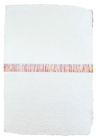 Manfred Mayerle, 'Büttenfolge ', 2020