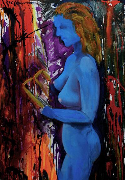 Ric Conn, 'Blue Nude', 2019