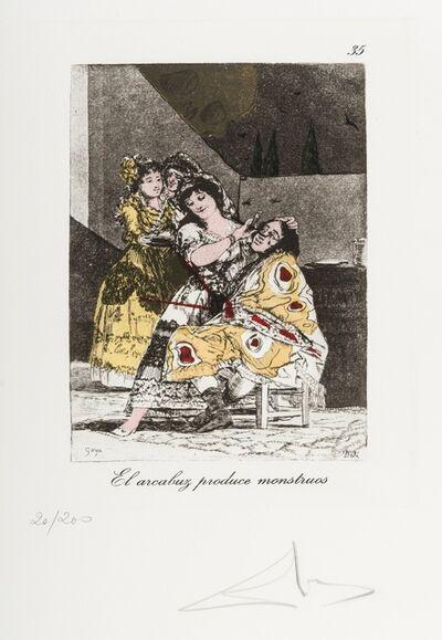 Salvador Dalí, 'Plate 35 (From Les Caprices de Goya de Dali) (M & L 882)', 1977