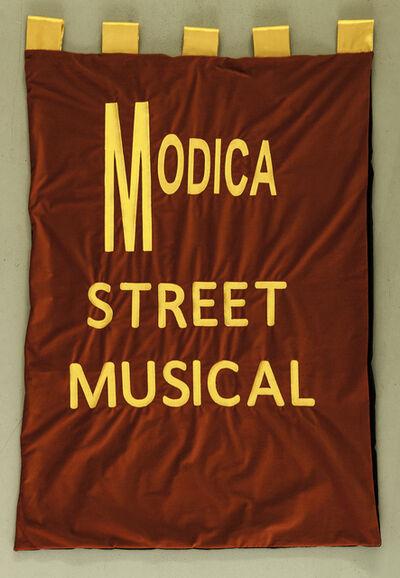 Marinella Senatore, 'Modica Street Musical - Banner', 2016