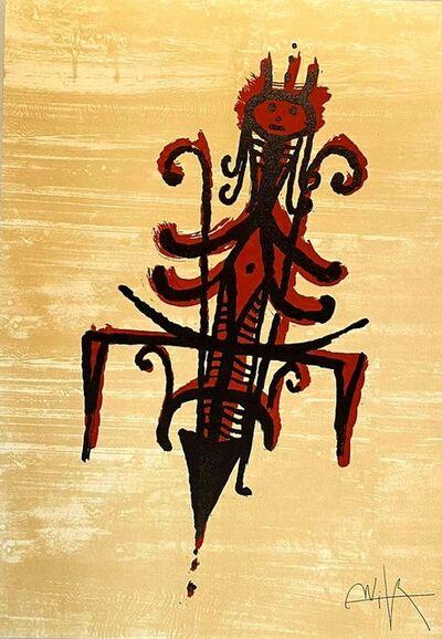 Wifredo Lam, 'El último viaje del buque fantasma', 1976
