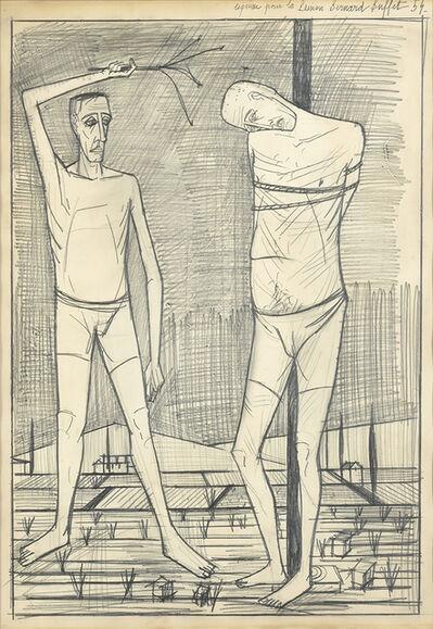 Bernard Buffet, 'Esquisse Pour La Passion Du Christ', 1954
