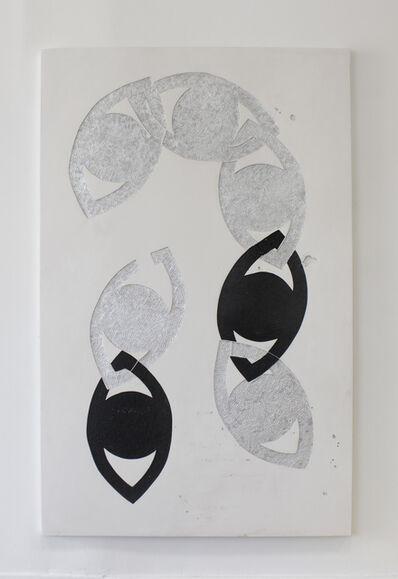 Erin Morrison, 'Eye Chain, Silver', 2017