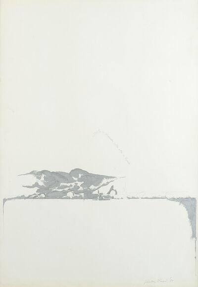 Giosetta Fioroni, 'Vento di scirocco sulla città di Roma', 1971