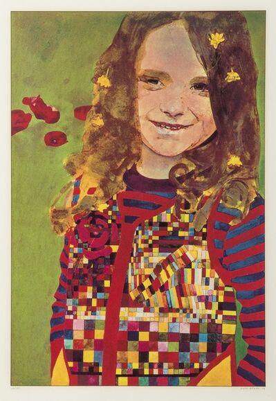 Peter Blake, 'Girl in a Poppy Field', 1974