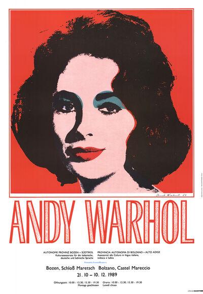 Andy Warhol, 'Liz Taylor', 1989