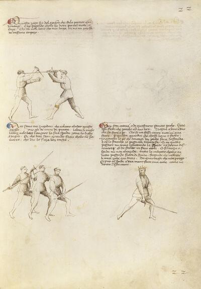 Fiore Furlan dei Liberi da Premariacco, 'Combat with Dagger and Sword', 1410