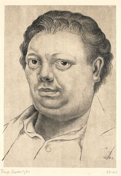 Diego Rivera, 'Autorretrato (Self Portrait)', 1930