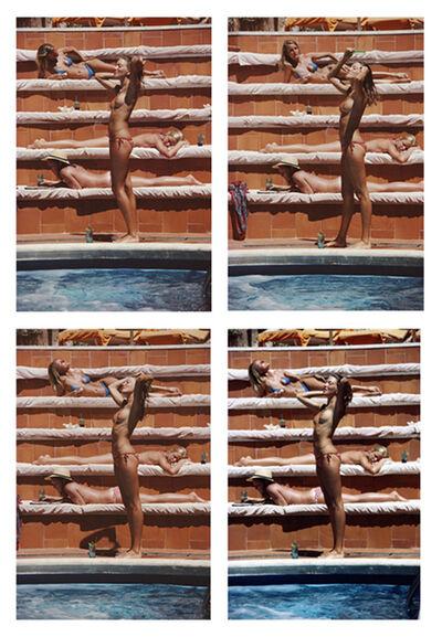 Slim Aarons, 'Catherine Wilke, 1980: Catherine Wilke joins the topless sunbathers on the island of Capri, Italy', 1980