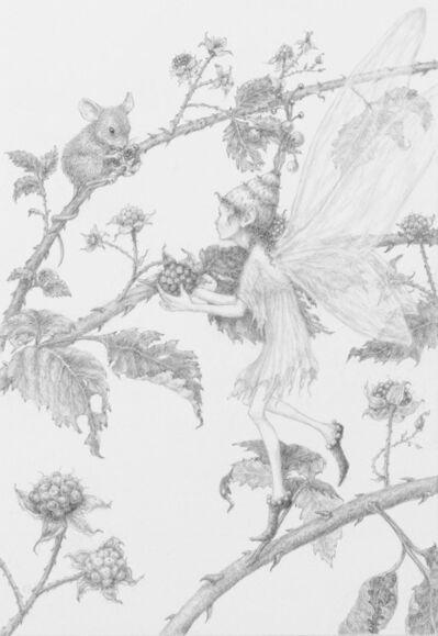 Lauren Mills, 'Berry Harvest', 2019