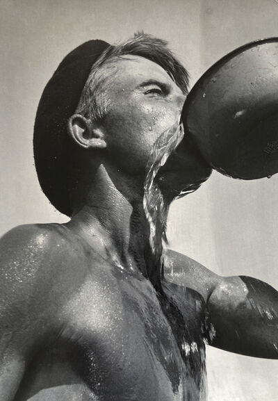 Doris Ulmann, 'Worker Drinking (Thirst)', 1950