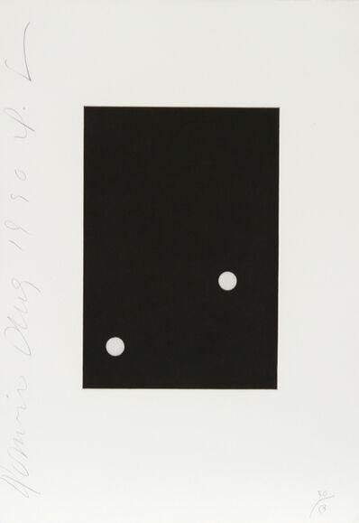 Donald Sultan, 'Dominoes Portfolio - 3', 1990