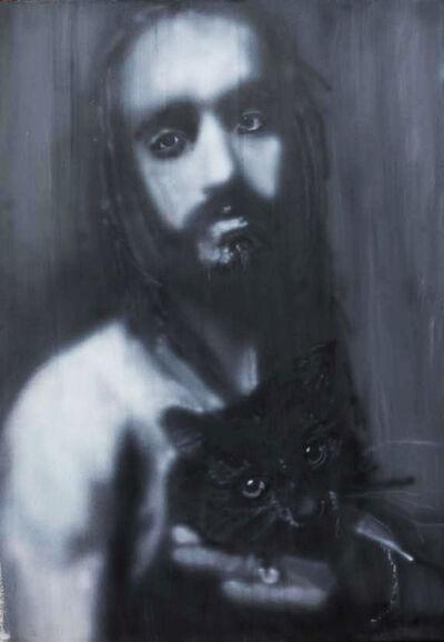 Igor Vishnyakov, 'Portrait of Artist A. Zakharov With a Cat of Nikolay Vasilevich ', 2009