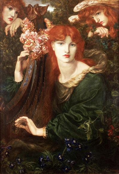 Dante Gabriel Rossetti, 'La Ghirlandata', 1873