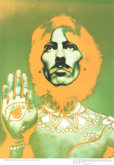 Richard Avedon, 'George Harrison', 1967