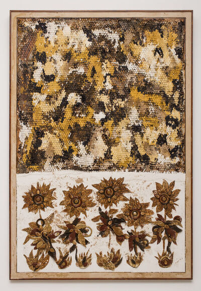 Ugo Schildge, 'Beehive and Sunflowers', 2018