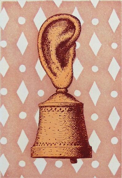 René Magritte, 'The Music Lesson or The Sound of the Bell | La Leçon de Musique or Son de Cloche', 1968