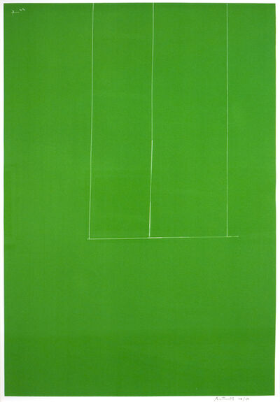 Robert Motherwell, 'Untitled-Green', 1971
