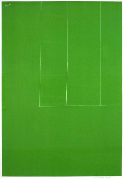 Robert Motherwell, 'Untitled-Green', 1971