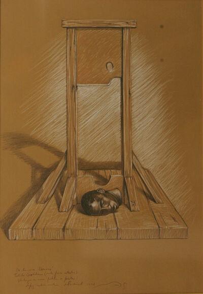 Armando Mariño, 'Guillotina ( Solo para artistas) ', 1998