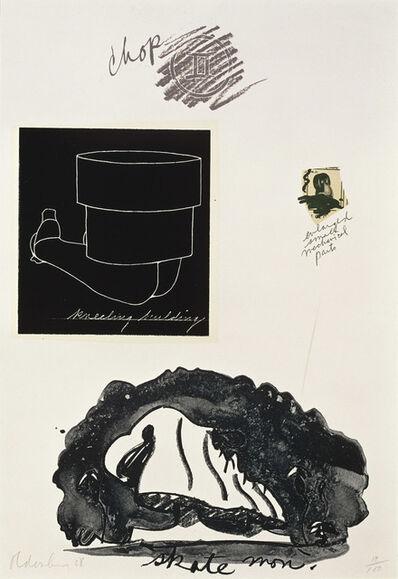 Claes Oldenburg, 'Notes (Skate Monument)', 1968