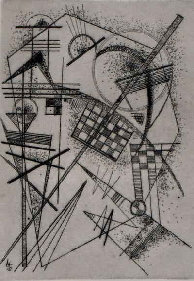 Wassily Kandinsky, 'Etching for the German Art Community | Radierung für die Deutsche Kunstgemeinschaft', 1926