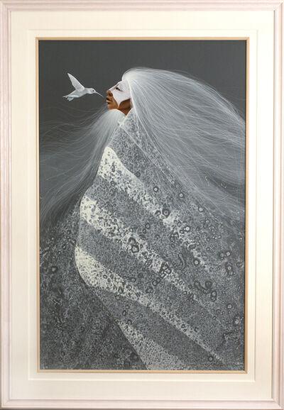 Frank Howell, 'White Hummingbird', 1994