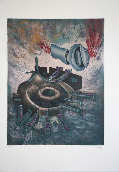 "Roberto Matta, 'Hom'mere Chaosmos entitled ""Chaosmos""', 1975"