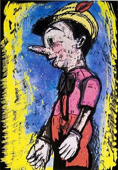 Jim Dine, 'Pinnochio', 2008
