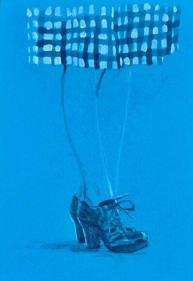 William Acosta, 'Blue Shoes', 2017