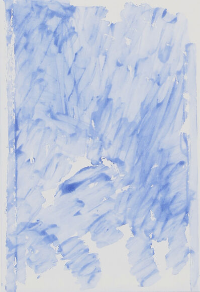 John Zurier, 'Summer Book blue sugarlift', 2016
