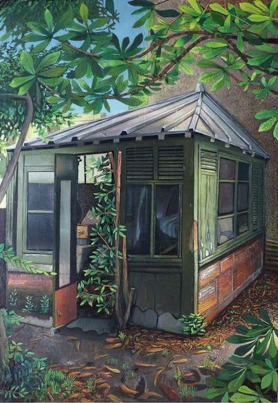 Mathieu Cherkit, 'Green Cube', 2014