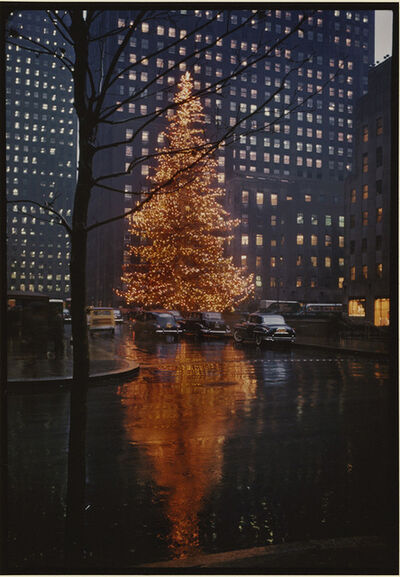 Alfred Eisenstaedt, 'Rockefeller Center Christmas Tree, NYC', 1950/1990c