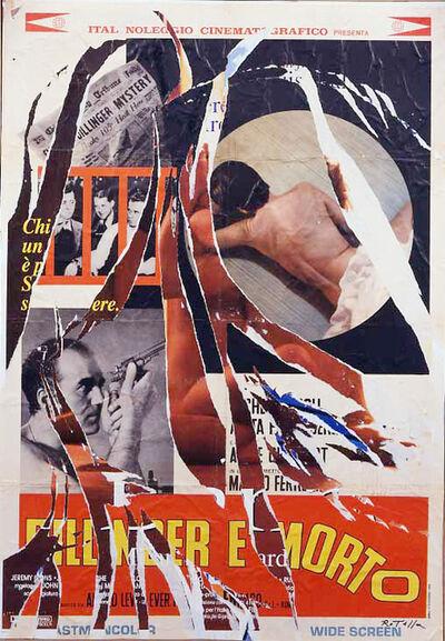 Mimmo Rotella, 'Dillinger è morto', 2003
