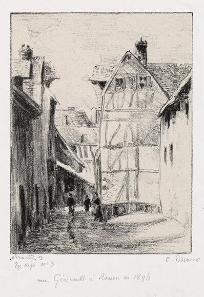 Camille Pissarro, 'Rue Géricault, à Rouen', 1896