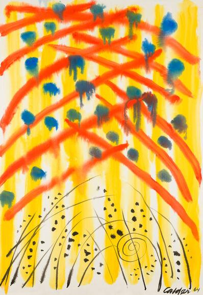 Alexander Calder, 'Young Rain', 1964
