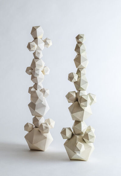 Lauren Shapiro, 'Stacked Shapes'