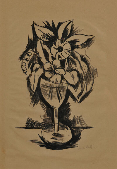 Marsden Hartley, 'Flowers in a Goblet #3', 1923