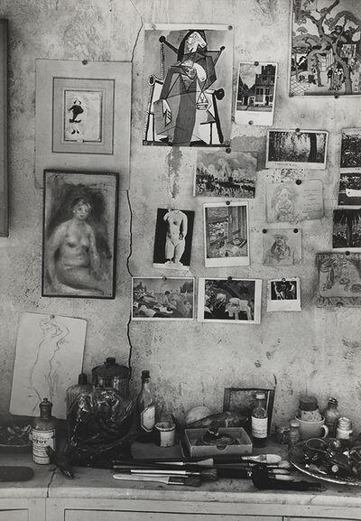 Brassaï, 'Le mur de l'atelier avec ses images, chez Bonnard (A wall in Bonnard's house with his favorite images)', 1946