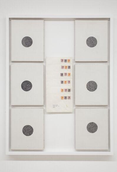 Alighiero Boetti, 'Lavoro postale (Percomunicazioni)', 1974-1978