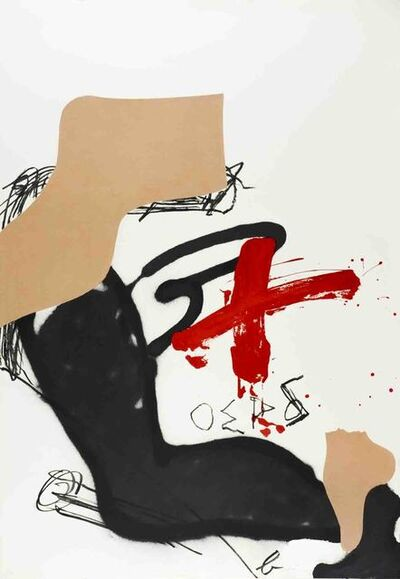 Antoni Tàpies, 'Chicago International', 1987